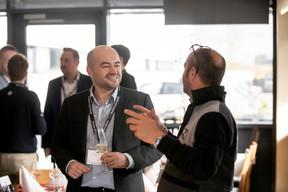 Frédéric Roll (Samsic Facility Luxembourg Services) et Cyril Deddouche (Abiotek) ((Photo: Jan Hanrion/Maison Moderne))
