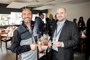 Cyril Deddouche (Abiotek) et Frédéric Roll (Samsic Facility Luxembourg Services) ((Photo: Jan Hanrion/Maison Moderne))