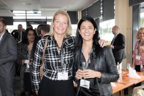 Marianne Van Den Eerenbeemt (Livinlux) et Céline Corbiaux (Avocat Céline Corbiaux) ((Photo: Jan Hanrion/Maison Moderne))