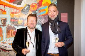 Eric Peiffer (CPO - Chapier Office) et Sébastien Lombre (Digivibe) ((Photo: Jan Hanrion/Maison Moderne))