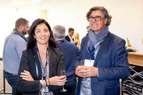 Céline Corbiaux (Étude Céline Corbiaux) et Alain Gadreau (Triode Médiation & Coaching) ((Photo: Jan Hanrion/Maison Moderne))