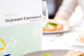 Déjeuner Carrousel - 20.09.2019 ((Photo: Jan Hanrion/Maison Moderne))