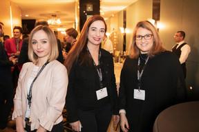 Emily Zwart (Berlitz), Fernanda Melo (Paladium) et Julia Berdugo (Tertia Office Solutions) ((Photo: Jan Hanrion / Maison Moderne))
