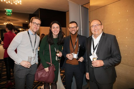 Charel Gaul (Lalux Assurances), Nicolas Genon (Securitas) et Alban Huyghe (HD33 Real Estate) (Photo: Jan Hanrion / Maison Moderne)