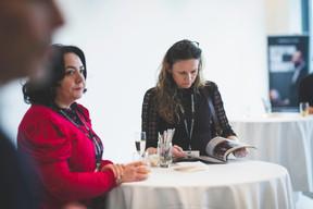 Cristina Mocka (Banque de Luxembourg) à droite ((Photo: Arthur Ranzy))