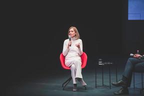 Taina Bofferding (Ministre de l'intérieur et Ministre de l'Égalité entre les femmes et les hommes) ((Photo: Arthur Ranzy))