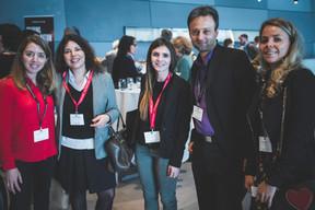 Géraldine Spies (FYTE), Aurélie Chianese (Maison Moderne), Lydia Dos Santos (Maison Moderne), Sami Hachicha (MIXVoip) et Nausicaa Rouge (MIXVoip) ((Photo: Arthur Ranzy))