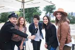 Jim Kent (Maison Moderne), Mary Carey (PwC), Andreia Nuno (Finologee) et Yasmine Meziane (PwC) ((Photo : Simon Verjus/Maison Moderne))