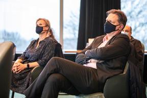 Claudia Neumeister (Luxdates) et Robert Kimmels (Praxisifm) ((Photo: Julian Pierrot / Maison Moderne))