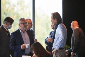 Alain Noullet (Initium Corporate Services) et Vincent Villem (Advisoria) ((Photo: Léo Biewer/Maison Moderne))