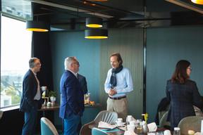 Alain Noullet (Initium Corporate Services) et Vincent Villem (Advisoria) (Photo: Léo Biewer/Maison Moderne)