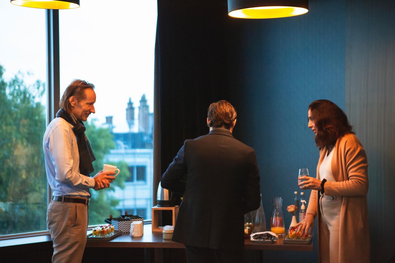 Vincent Villem (Advisoria) et Valérie Warland (VW Management) (Photo: Léo Biewer/Maison Moderne)