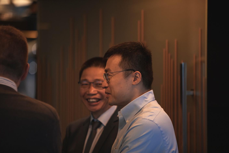 Jin Weijie (China Construction Bank Europe) (Photo: Léo Biewer/Maison Moderne)