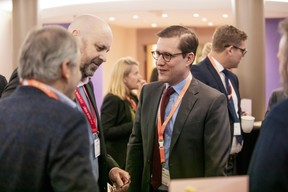 Duncan Roberts (Delano) et Philipp von Restorff (Luxembourg for Finance) ((Photo: Jan Hanrion/Maison Moderne))