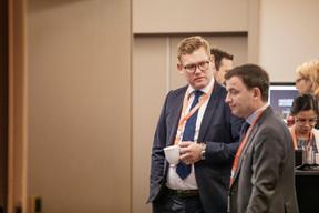 Andrew Notter (Anderson Wise) et Rémi Fouilloy (Morgan Philips Group) ((Photo: Jan Hanrion/Maison Moderne))