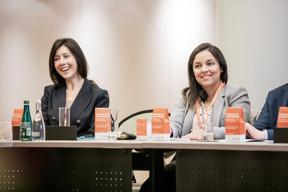 Estefania Bernal Cala (AIG Europe) et Bianca Lopes (Badenoch + Clark Luxembourg) ((Photo: Jan Hanrion/Maison Moderne))