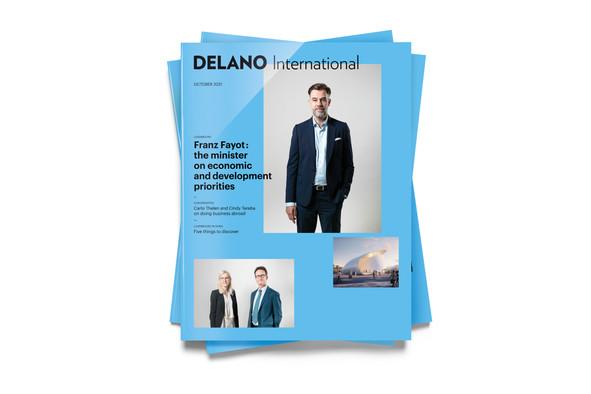 Delano's October 2021 International supplement, available on newsstands starting 23 September Maison Moderne