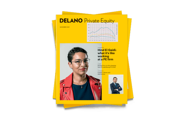 Delano's November 2021 Private Equity supplement, available on newsstands starting 20 October. Maison Moderne