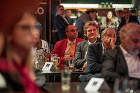 Philipp Simon (Moyal & Simon) et Paul Hermes (Spuerkeess) ((Photo: Jan Hanrion/Maison Moderne))