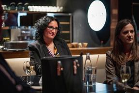 Carole Pellegrini (Arendt & Medernach) à gauche ((Photo: Jan Hanrion/Maison Moderne))