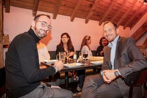 Stéphane Compain (Luxrelo) à droite ((Photo: Jan Hanrion/Maison Moderne))