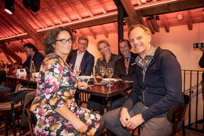 Carole Pellegrini (Arendt & Medernach), Andrew Notter (Anderson Wise), Grainne Corr (Robertson Associates),Jim Kent (Maison Moderne) et Thomas Kallstenius (LIST) ((Photo: Jan Hanrion/Maison Moderne))