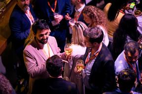 Joshua John Dhillon (Jack Welch College of Business) et Pol Schmit (Intertrust) ((Photo: Patricia Pitsch / Maison Moderne))