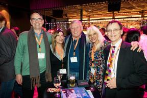 Richard Gale, Crystiina Avram, Graham Pollard (GFPLUX), Beatrice Langlade (six) ((Photo: Patricia Pitsch/Maison Moderne))