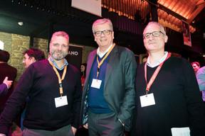 Darren Robinson (Anderson Wise), Claus Mansfeldt (Luxembourg Private Equity & Venture Capital Association) et Aaron Grunwald (Delano) ((Photo: Patricia Pitsch/Maison Moderne))