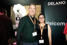 Jean-Claude Dahn et Jill Aniset (Zerberuz) ((Photo: Patricia Pitsch/Maison Moderne))