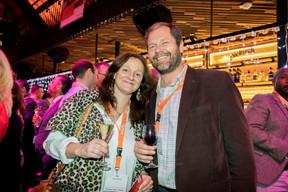 Rita Ponte (FMB) et Tobias Meyer (IEE) ((Photo: Patricia Pitsch/Maison Moderne))