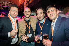 Tomas Deleener (Deutsche Bank), Giuseppe Albinati (Mixvoip), Rafaello Casarti (Deutsche Bank) ((Photo: Patricia Pitsch/Maison Moderne))
