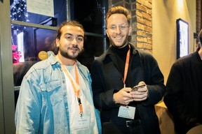 Yanis Ghannam (Good Vibes) et Kim Clement ((Photo: Patricia Pitsch/Maison Moderne))