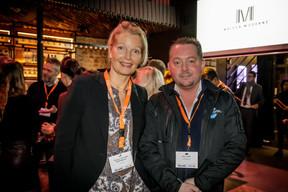 Marianne Van Den Eerenbeemt (LivinLux) et Arno Tijink (Vitrine Media) ((Photo: Jan Hanrion / Maison Moderne))