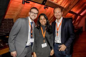 Guillaume Hernoux (FDLV Luxembourg), Marcela Hernoux Santos (Marcela Hernoux Photography) et Stéphane Compain (LuxRelo) ((Photo: Jan Hanrion / Maison Moderne))