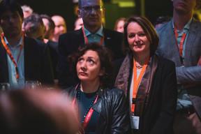 Luciana Restivo (Maison Moderne) et Caroline Muehfenzl (ICM Consult Ltd) ((Photo: Jan Hanrion / Maison Moderne))