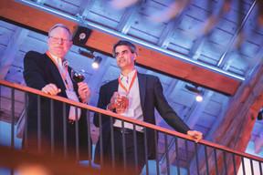 Michael Eichmüller De Souza (KPMG Luxembourg), à droite ((Photo: Jan Hanrion / Maison Moderne))