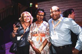 Fiona Kotziampasi, Edith Famdie (CHL) et Loyde Mitchell (ARHS Group) ((Photo: Patricia Pitsch/Maison Moderne))