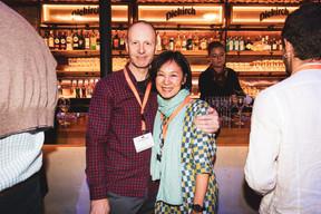 Neill Henderson et Mei Chan (Roku) ((Photo: Patricia Pitsch/Maison Moderne))