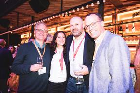 Aaron Grunwald (Maison Moderne), Stéphanie Crégut (Maison Moderne), et Duncan Robert (Maison Moderne) ((Photo: Patricia Pitsch/Maison Moderne))