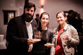 François-Xavier Roux, Sabina Klimentova et Katy Li (Victeris) ((Photo: Caroline Lequeux))