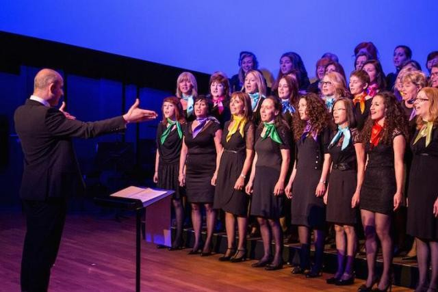 Voices International began grew from an adult choir formed for a school production Voices International