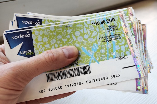 The Luxembourg Chamber of Commerce has called for the face value of lunch vouchers to be increased Maison Moderne