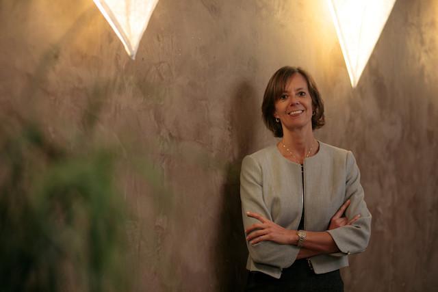 Carine Feipel has been ILA president since June 2019 Matic Zorman