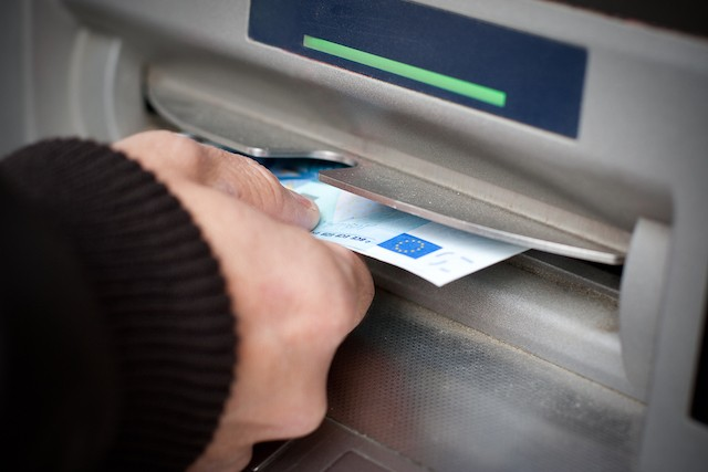 The Eurosystem is conducting research into the potential impact of the production and circulation of euro banknotes on public health in relation todiseases like covid-19 Shutterstock