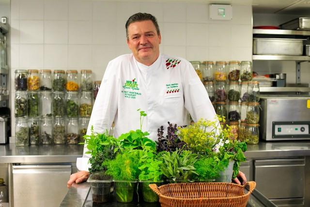 René Mathieu, the first recipient of a Michelin green star in Luxembourg Matic Zorman