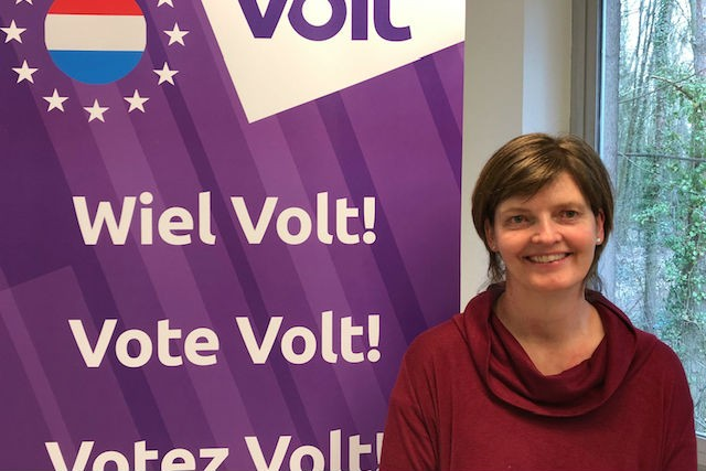Fiona Godfrey, pictured, is chair of British Immigrants Living in Luxembourg, and co-chair of British in Europe Volt Luxembourg
