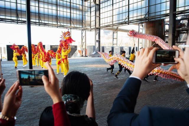 April 2018 archive photo shows a performance during the inauguration of Luxembourg's Confucius Institute LaLa La Photo