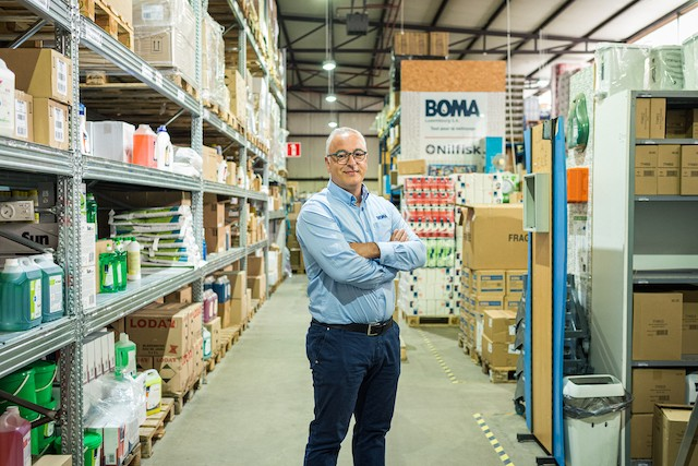"""""""I don't sell miracle products"""" says Boma country manager Antonio Caetano, pictured Mike Zenari"""