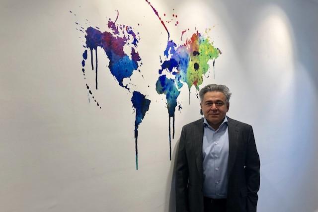 VNX Exchange chairman, Vladimir Khanumyan, shown here in the Luxembourg House of Financial Technology (LHoFT) Delano
